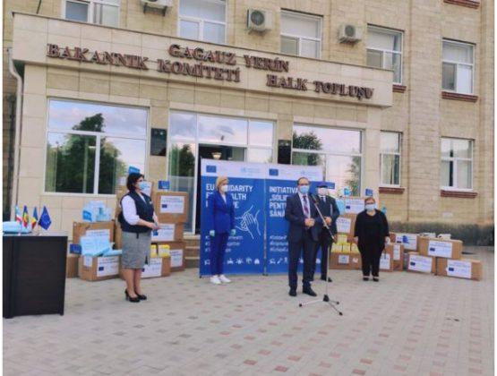 Врачи из Гагаузии получили защитное снаряжение от ЕС и ВОЗ