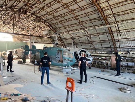В Криулянах раскрыли подпольный завод по производству вертолетов