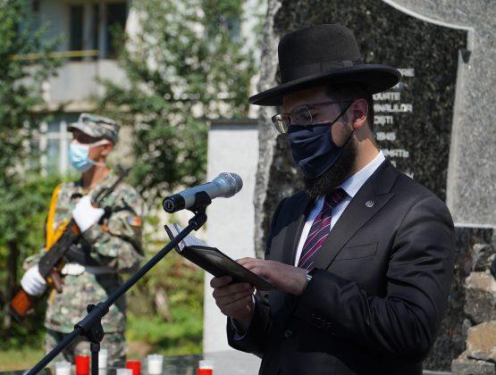 Открытие памятника «Жертвам Холокоста» в Кагуле