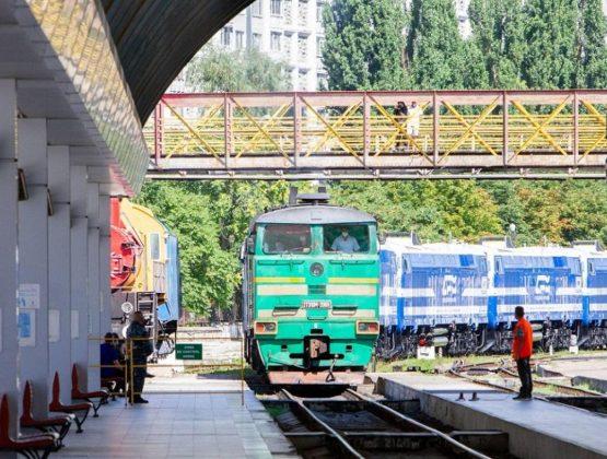 Первые 6 из 12 локомотивов для Молдавской железной дороги прибыли в Кишинёв