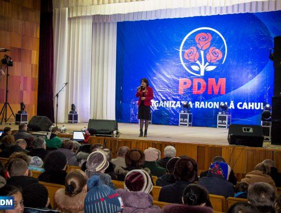 Члены территориальной организации ДПМ в Кагуле покинули партию