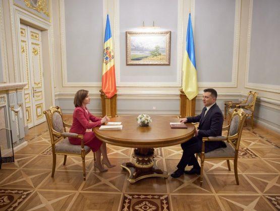 Офис президента Украины подвел итоги визита Майи Санду