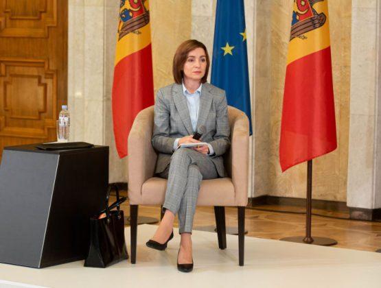 Санду отправится в Брюссель с рабочим визитом