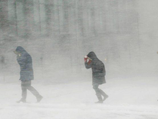 В Молдове объявили оранжевый код метеоопасности из за снега