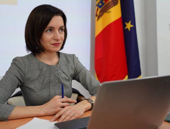 Президент Республики Молдова Майя Санду посетит 12 января с официальным визитом Киев