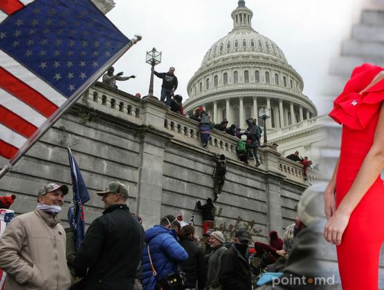 На протестах в США задержана уроженка Молдовы