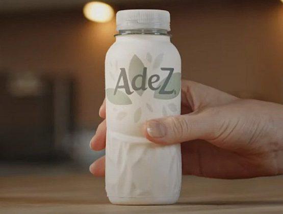 Coca-Cola тестирует первую бумажную бутылку