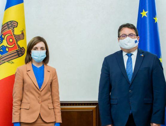 Президент Майя Санду подписала соглашение о финансовой помощи ЕС в размере 15 миллионов евро