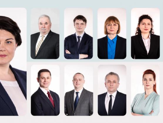 Наталья Гаврилица представила правительственную команду