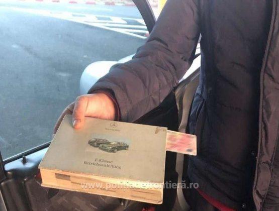 Румынские пограничники изъяли у молдаванина купленный за €300 польские автоправа