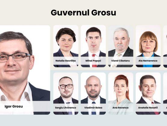 Голосование по вопросу утверждения правительства Игоря Гросу не состоялось из-за отсутствия кворума в Парламенте