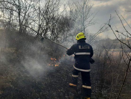 Пожары в Молдове: за сутки сгорели 120 гектаров сухой травы и камышей