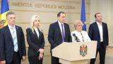 ПСРМ, группа Pentru Moldova и партия «Шор» не будет голосовать за правительство Гросу
