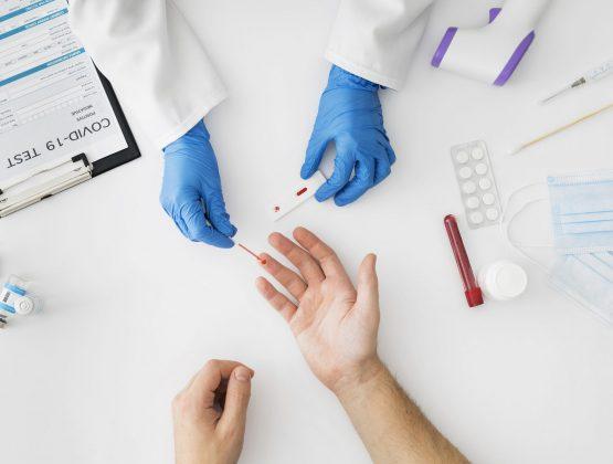 В Молдове больницам и поликлиникам, раздали 100 тыс. экспресс-тестов на коронавирус