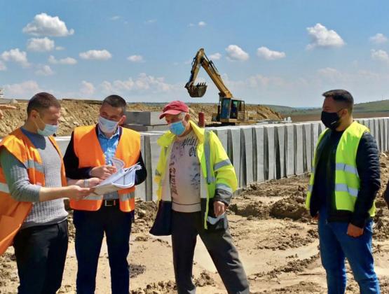 Строительство объездной дороги в селе Слобозия Маре Кагульского района выполнено на 20%