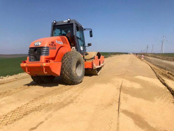 Строительство Комратской объездной дороги осуществлено на 40%