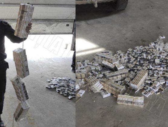 Житель Кагула спрятал в машине более 350 пачек сигарет