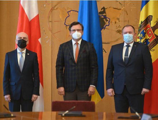 Молдова, Грузия и Украина подписали меморандум в области европейской интеграции
