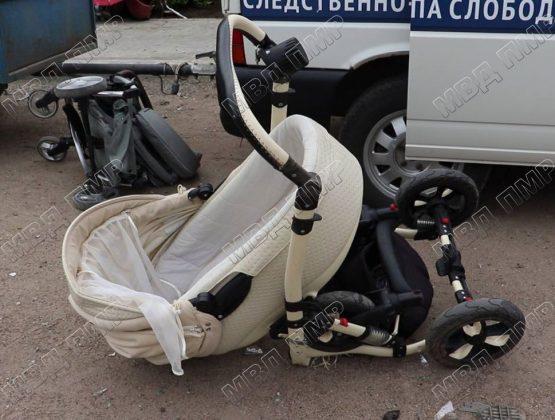 Двухмесячный младенец скончался в результате ДТП в Слободзейском районе