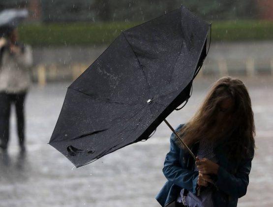 Порывистый ветер по всей стране