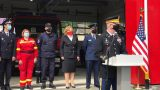 Современная пожарная часть открылась в Кантемире / ФОТО / ВИДЕО
