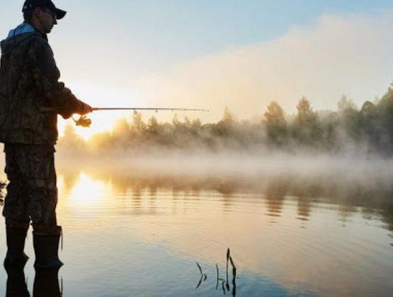 Закончился запрет на ловлю рыбы. С 15 июня разрешена рыбалка.