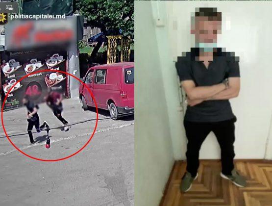 Самостоятельно задержал вора и передал его полиции