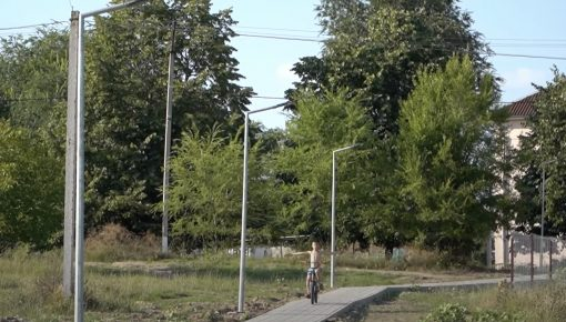 Дорога в Ларга Ноуэ района Кахул была освещена при поддержке ЕС