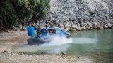Два катера на воздушной подушке поступили в оснащение Пограничной полиции