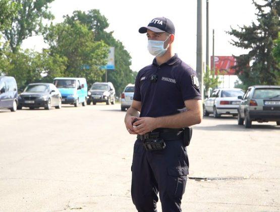 Один день с полицейским в городе Кагул