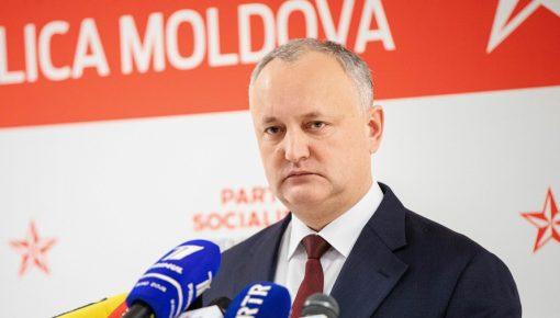 Додон отказался от мандата депутата